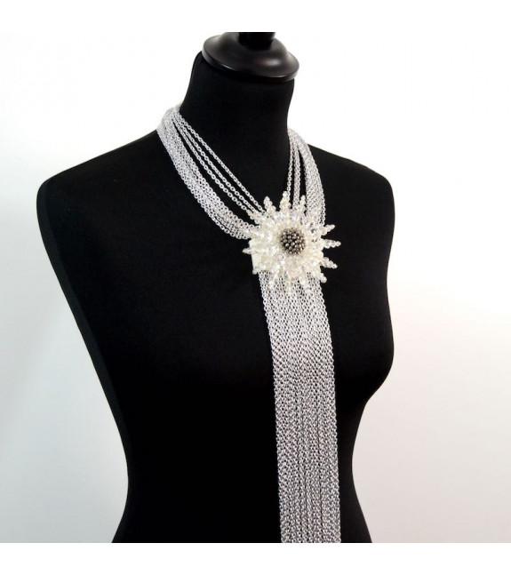 Collar Montparnasse blanco