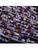 Collar Petri cascada lila detalle