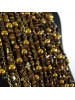 Collar Petri cascada marrón detalle