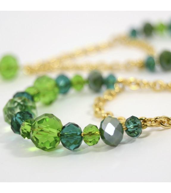 Pendiente largo catenaria verde